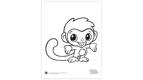 Baby Animals Coloring Page Printables