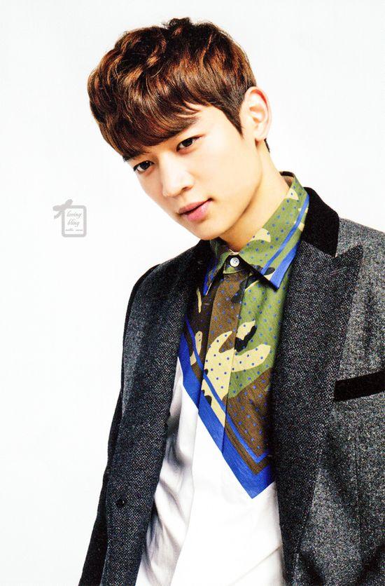 "Minho - SHINee - Japanese Magazine ""H"""