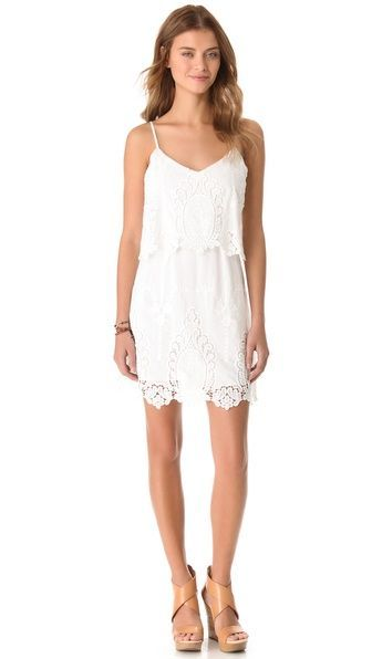 pretty lace dress by Dolce Vita {want this!}
