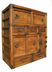 Merchant's chest...beautiful grains and interesting compartment configuration