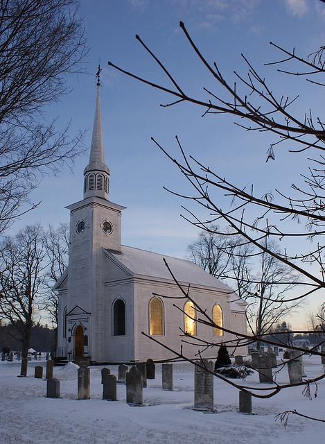"Church.    "":O)"