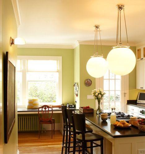 moderne pendelleuchten f r bad und k che. Black Bedroom Furniture Sets. Home Design Ideas