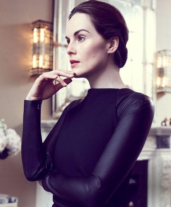 Michelle Dockery in Ralph Lauren for Harper's Bazaar