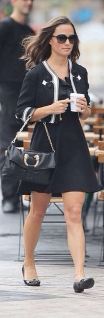 Pippa Middleton Work Outfit
