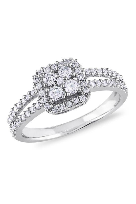White Gold & Diamond Ring.