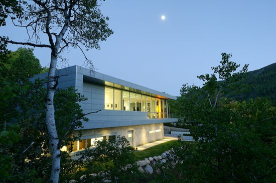 Scholl Residence in Aspen, Colorado by Studio B Architects