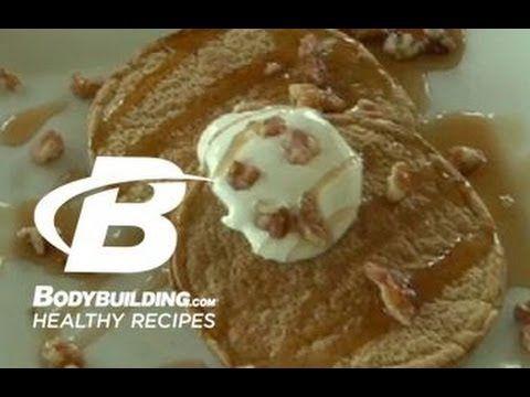 ? Healthy Recipes: Sugar Free Pumpkin Spice Pancakes - Bodybuilding.com - YouTube