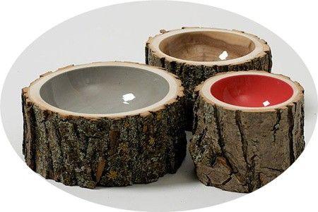 3D art n design / Log bowls.