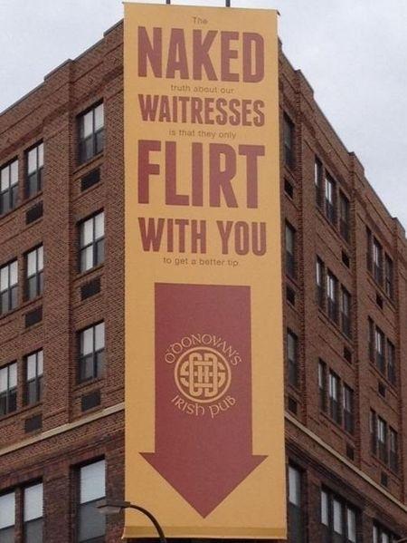 Funny Bar ad.