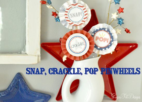 Download these cute FREE 4th of July printables