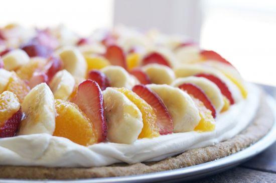 Organic Fruit Pizza