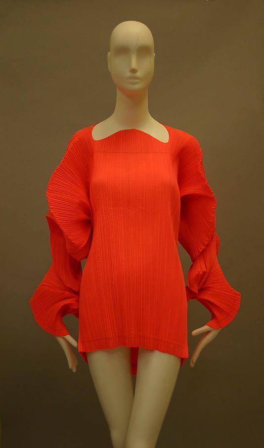 Issey Miyake (Japanese, born 1938). Shirt, 1991. The Metropolitan Museum of Art, New York. Purchase, Caroline Rennolds Milbank Gift, 2009 (2009.244)