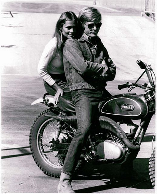 Robert Redford and Lauren Hutton