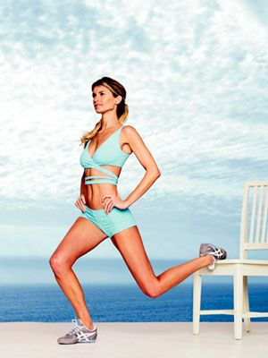 Marisa Miller's Exercise Plan: step-by-step instructions #workout #fitness