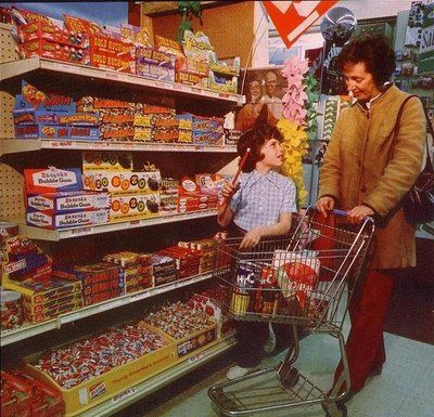 1970s Store Candy Display