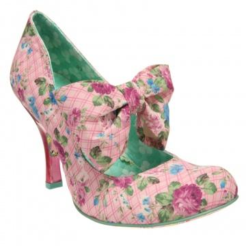 Pink Flower shoes ~ Irregular Choice