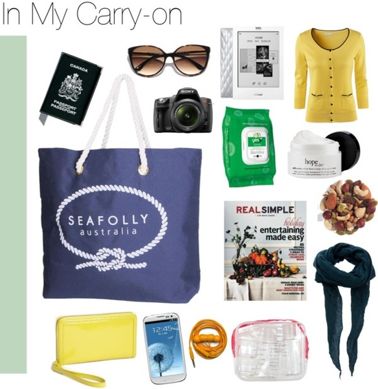 In My Carry-on #travel #packing
