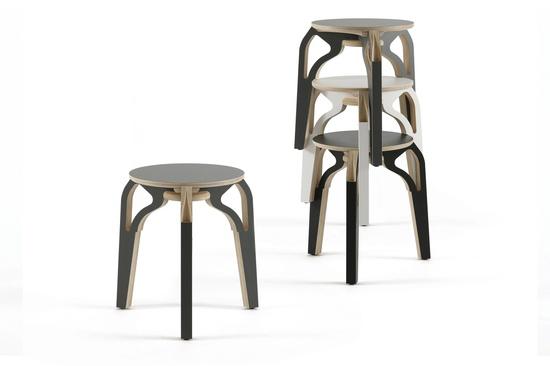 *industrial design, stools* - Perch by Ross Gardam