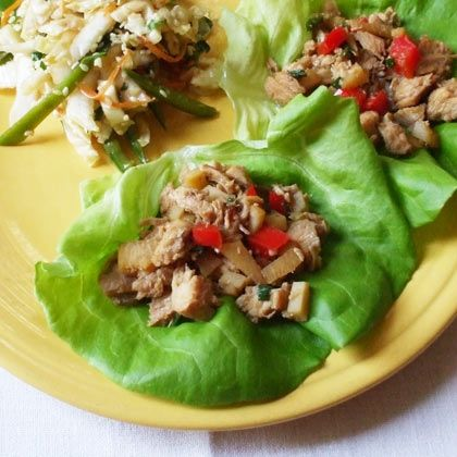 Chicken Lettuce Wraps from P.F. Chang's