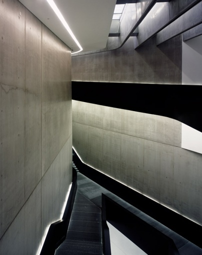 Contemporary Arts Centre 'MAXXI' in Rome by Zaha Hadid Architects