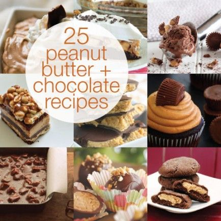 25 Heavenly Peanut Butter and Chocolate Recipes #peanutbutter #chocolate #recipes