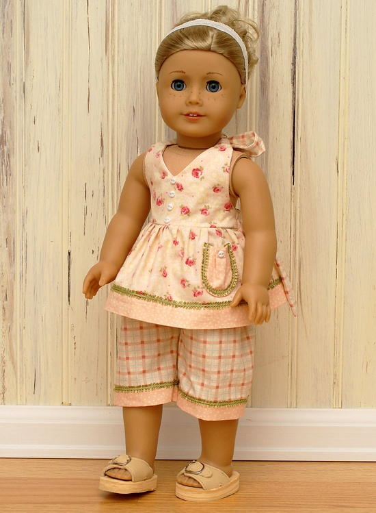 Trunk Sale-American Girl Doll-Peaches and Cream. $14.00, via Etsy.