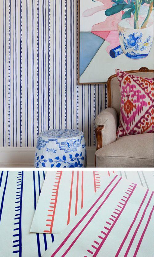 fun/cute blue wallpaper in a graphic pattern!