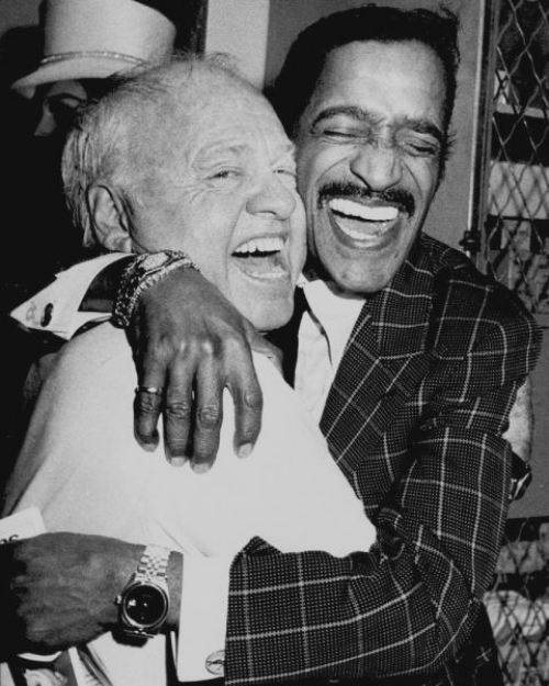 Mickey Rooney and Sammy Davis Jr.