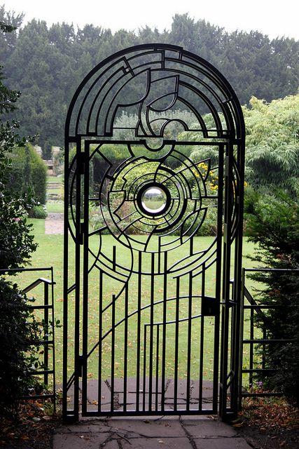 Clare College Garden Gate, Cambridge
