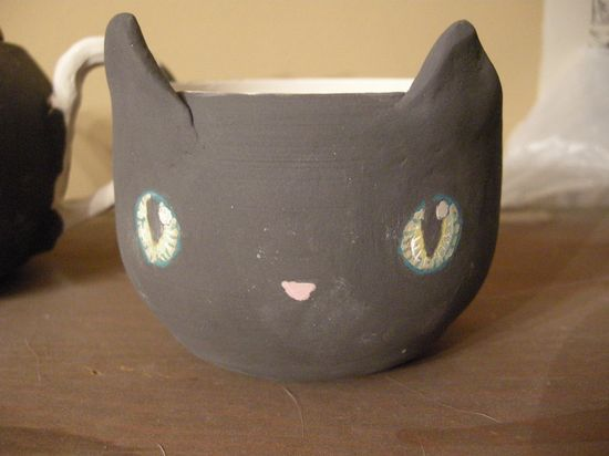 WiP Baby cat tea cup by trickypink on deviantART