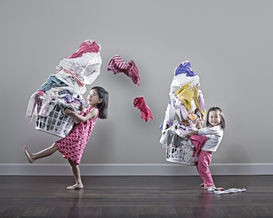 laundry. LOVE this photographer, and his adorable asian babies :)