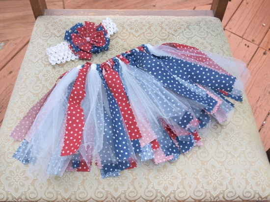 Fourth of July Baby Outfit