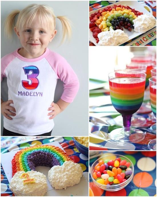 Rainbow Birthday Ideas