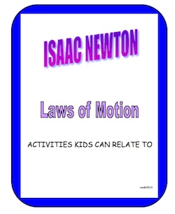 Kids connect to Newton's laws that the moves basketball players make. Grades 4 and up.
