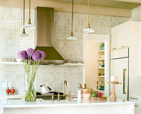Angie Hranowsky Kitchen. Tile.