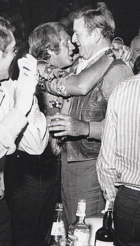 Steve Mc Queen and John Wayne