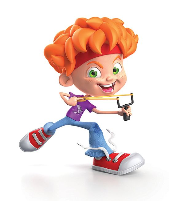 Cartoon Kid Character #kid #character #child #3D