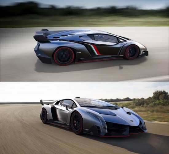 Named after one of the fastest, strongest and most aggressive fighting bulls ever, here's an ultra-exclusive Lamborghini Veneno, a road-going Italian super sports car and racing prototype which will celebrate its first-ever public appearance at the 2013