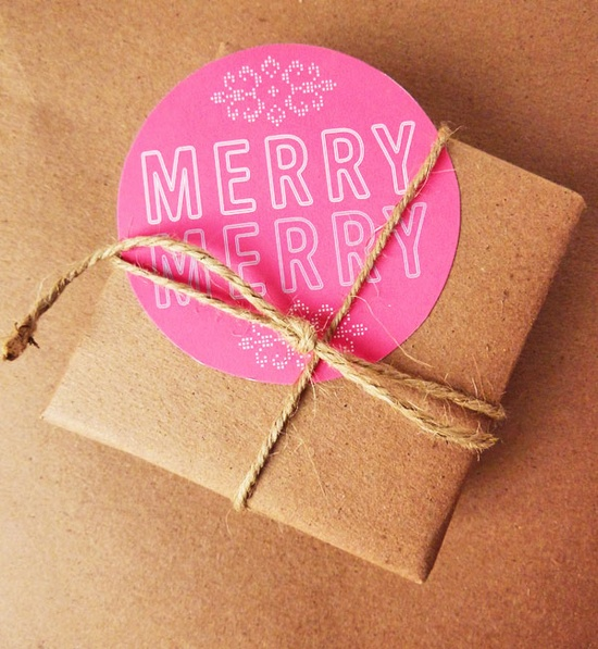 Merry & Bright Holiday tags from Very Sarie