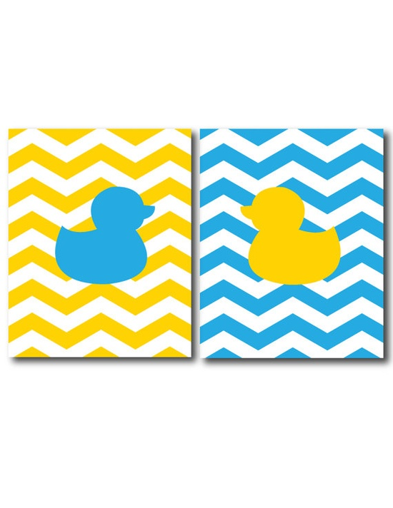 Making bath time lots of fun for decades. — bathrooms for baby need some art lovin' too.