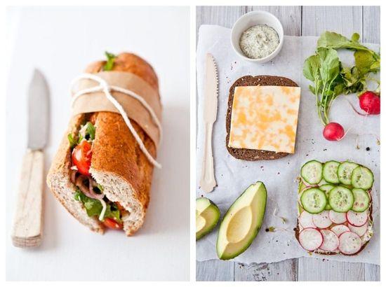 The gorgeous sandwich.
