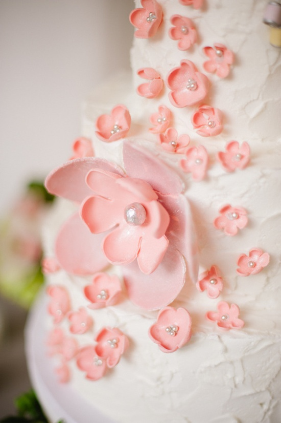 Lovely cake flowers - greatdanebakery.com / Photography by hazelnutphotograp...