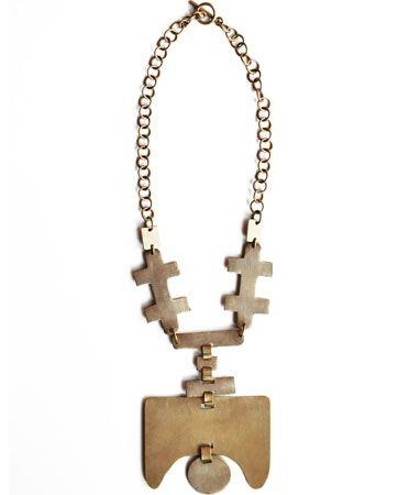 Masterpiece Brass Necklace