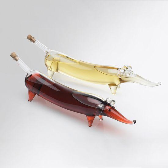 Weiner Dog Oil & Vinegar Set