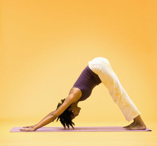12 Yoga Poses to Undo the Damage of Your Desk by huffpost #Yoga