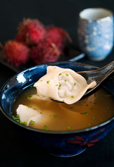 Wonton Soup is one of the healthiest soups you can eat and it's low cal!!!