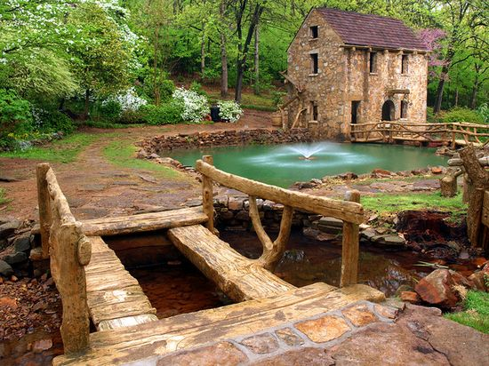 The Old Mill.  North Little Rock, Arkansas