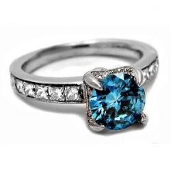 Blue diamond engagement rings are so unique and elegant. Diamond rings with a blue diamond in them express your individuality. A blue diamond...