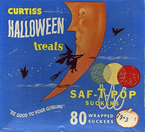 vintage Halloween Treats box