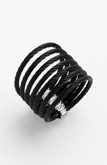 Charriol 'Modern Cable Mix' 7-Row Ring available at #Nordstrom